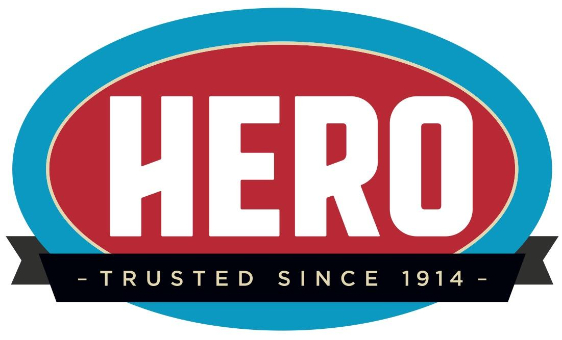 Hero Plumbing, Heating & Cooling Logo